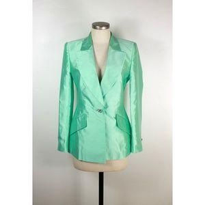 Escada raw silk jacket blazer